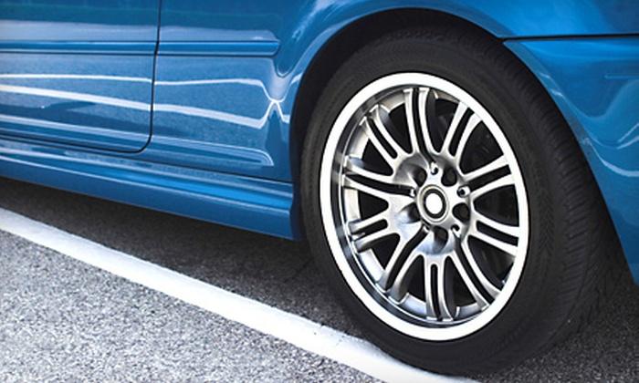 Diamond Tire Center - Canal: Balance and Rotation or Four-Wheel Alignment at Diamond Tire Center in San Rafael