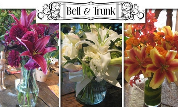 Bell and Trunk Flowers - Potrero: $20 for $40 Worth of Custom Flower Arrangements at Bell and Trunk Flowers