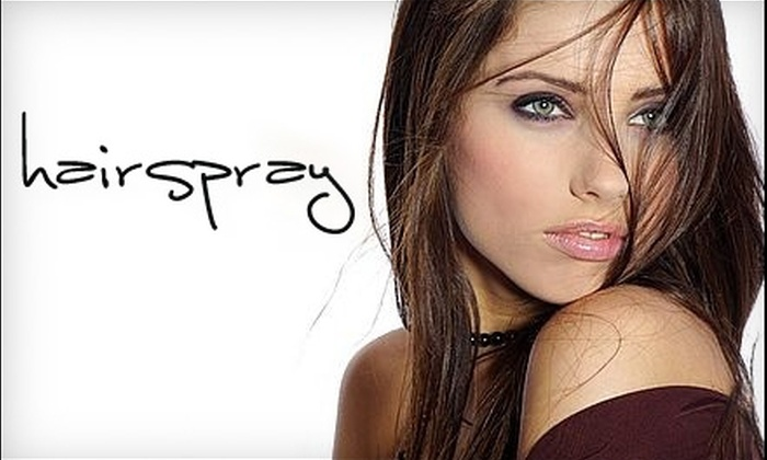 Salon Hairspray - Center City West: $150 for a Keratin Straightening Treatment at Salon Hairspray