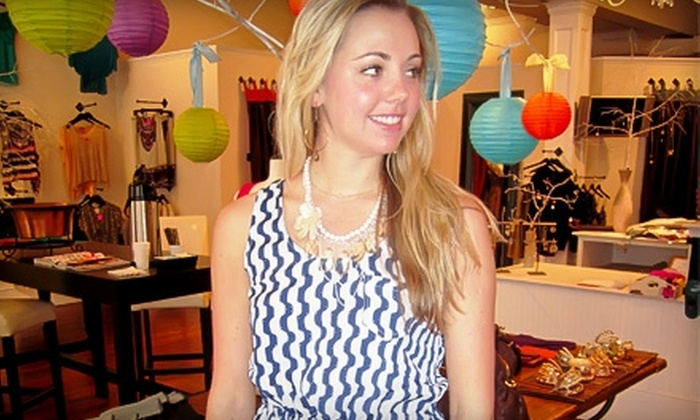 Gin-O Boutique - Franklin: $25 for $55 Worth of Fashionable Clothing and Accessories at Gin-O Boutique in Franklin