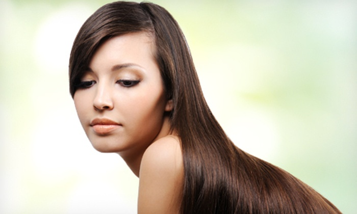 Elisabeth Hair - Spence: Keratin Treatment for Short, Medium or Long Hair or Loop Brush at Elisabeth Hair (Up to 66% Off)
