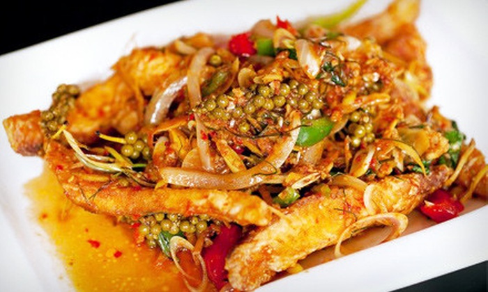 Asiam Thai - Gramercy Park: $19 for Thai Dinner for Two Including Appetizers and Entrees at Asiam Thai (Up to $45.80 Value)