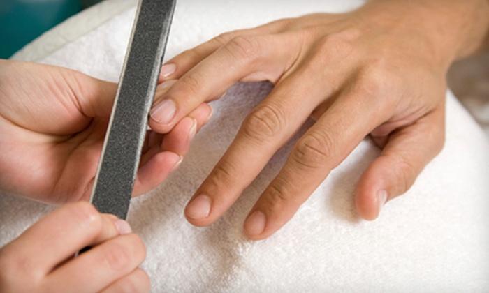 P'Zazz Hair & Nail Studio - Hilton Head Island: Manicures at P'Zazz Hair & Nail Studio on Hilton Head Island