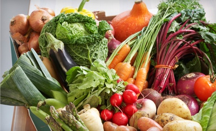$31.50 Groupon for Delivered Organic Produce - Farm Fresh To You in