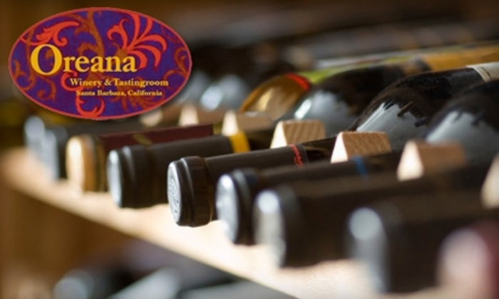 Oreana Winery & Marketplace - Lower State: $25 for Wine Tastings for Two and a Bottle of Wine at Oreana Winery & Marketplace ($50 Value)