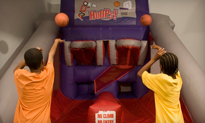 BounceU - Whitney Ranch: $15 for Five Admissions to Open Bounce at BounceU in Henderson ($30 Value)