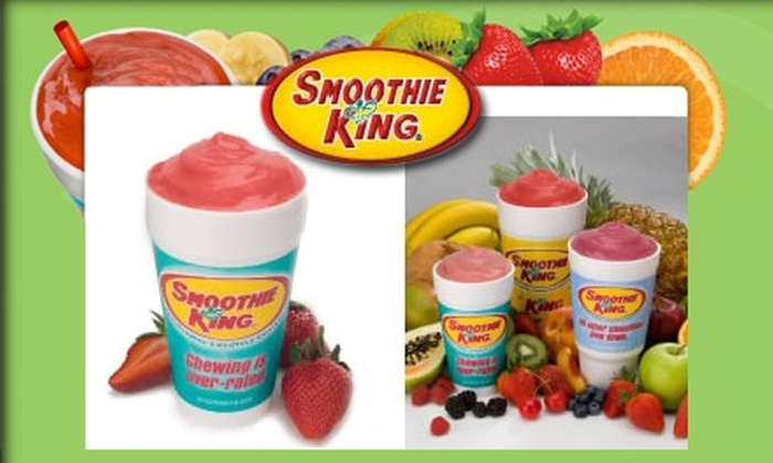 Smoothie King - Chesterfield: $5 for Three 20-Ounce Smoothies at Smoothie King in Chesterfield (Up to $14.97 Value)