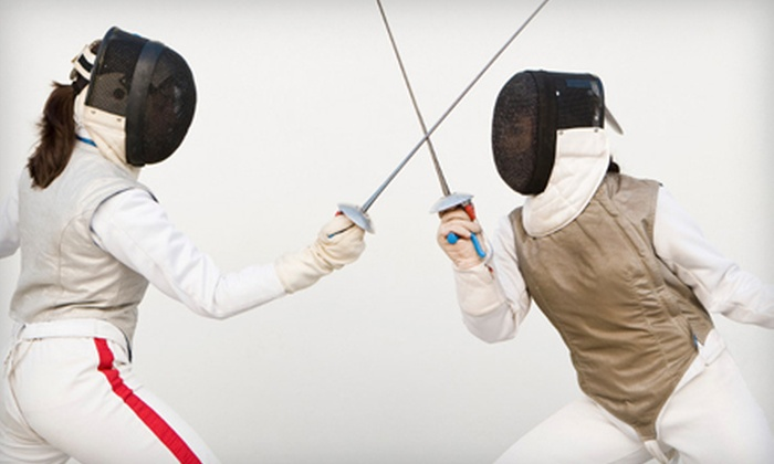 Red Rock Fencing Center - Paradise: $35 for Three Introduction to Fencing Classes at Red Rock Fencing Center ($75 Value)