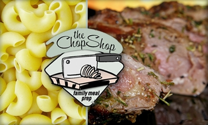 The Chop Shop - Birmingham: $30 for a Backyard Barbecue Sampler from the Chop Shop