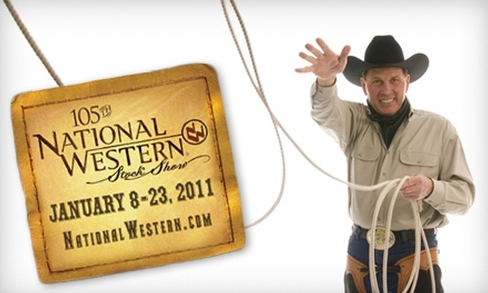 National Western Stock Show - Elyria Swansea: $10 for a Ticket to the Opening Day of the National Western Stock Show ($19 Value)