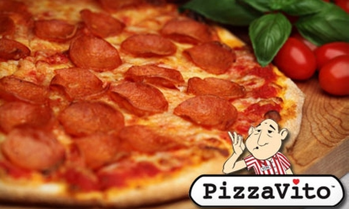 Pizzavito Real New York Pizza - Ocala: $7 for $15 Worth of Pizza and More at PizzaVito