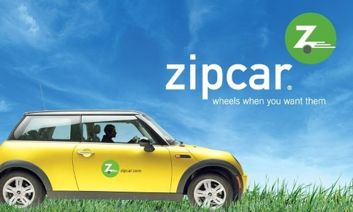 Zipcar : $30 for a One-Year Car-Sharing Membership to Zipcar ($125 Value)