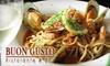Buon Gusto Ristorante & Bar - Mission Hills: $9 for $20 Worth of Italian Fare and Drinks at Buon Gusto Ristorante & Bar in Mission Hills