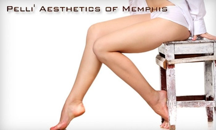 Pelli Aesthetics - Masjid Al-Noor Housing Development Corp: $99 for Three Laser Hair Removal Treatments at Pelli' Aesthetics