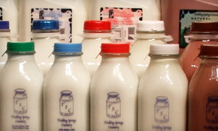 Milk Moo-Vers - Washington: Delivery of Organic Milk and Eggs from Milk Moo-Vers. Two Options Available.