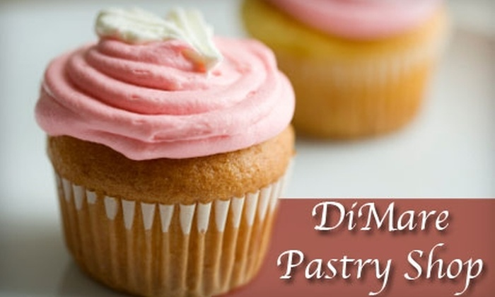 DiMare Pastry Shop - Multiple Locations: $6 for $12 Worth of Gourmet Baked Goods at DiMare Pastry Shop