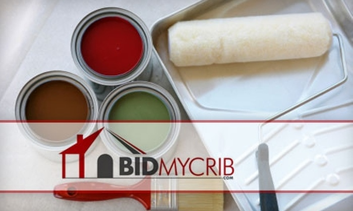 BidMyCrib - Cincinnati: $85 for a Two-Room Painting from BidMyCrib (Up to $422.50 Value)