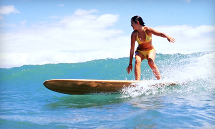 Malibu Surf Shack - Los Angeles: 90-Minute Surfing Lesson for One or Two from Malibu Surf Shack