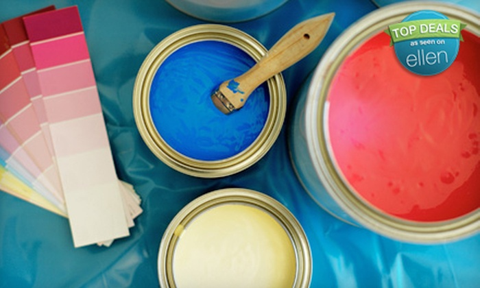 Johnson Paint Company - Multiple Locations: Painting Supplies, Professional Paint & Art Supplies at Johnson Paint Company (Half Off). Two Options Available.