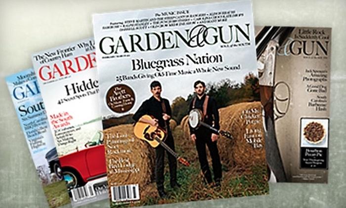 """Garden & Gun"" Magazine - El Paso: $10 for a One-Year Subscription (Six Issues) to ""Garden & Gun"" Magazine"