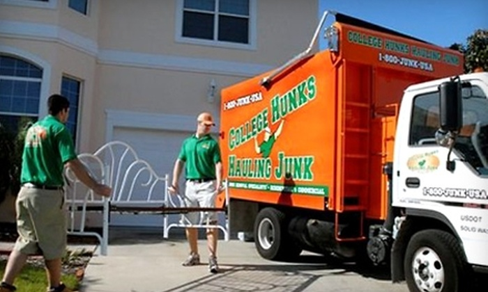 College Hunks Hauling Junk  - Davis Square: $149 for Two Hours of Labor from College Hunks Hauling Junk ($298 Value)