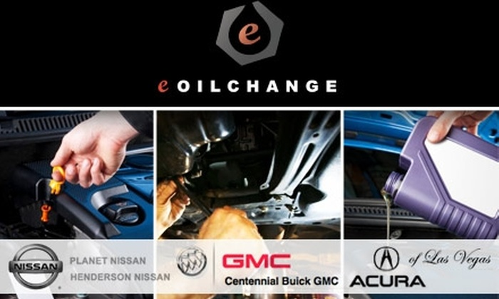 eOilchange.com - Multiple Locations: $30 for Three Oil Changes and Filters from Providers on EOilChange.com ($88.50 Value)