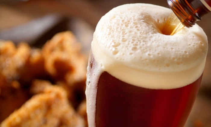 Jersey Giant - Toronto: $15 for $30 Worth of Pub Fare and Drinks at Jersey Giant