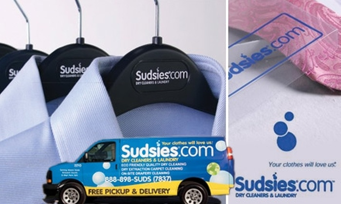 Sudsies Dry Cleaners - North Shores: $25 for $50 Worth of Dry-Cleaning at Sudsies Dry Cleaners