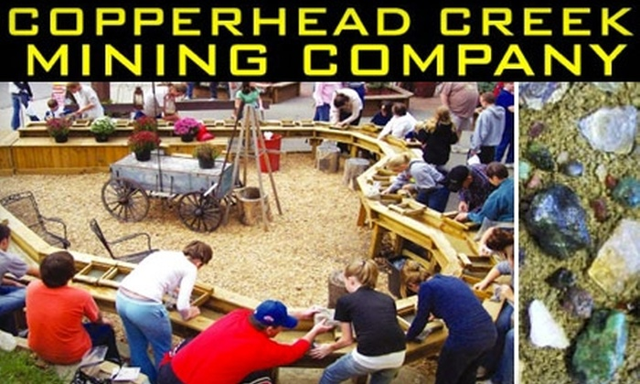 Copper Creek Gem Mine and Rock Shop - Nashville: $16 for a Two-Gallon Mixed Bucket of Gemstones and More for Panning at Copper Creek Gem Mine and Rock Shop ($32 Value)