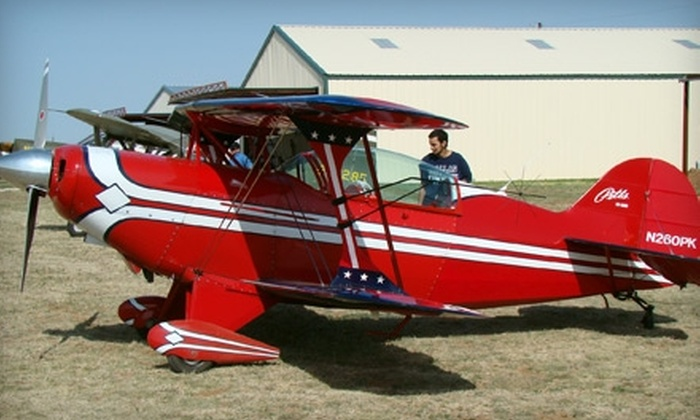 Caprock Aero Club - Buffalo Springs: $95 for a 75-Minute Flight Lesson from Caprock Aero Club ($202 Value)