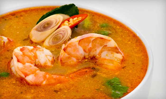 Chiang Mai Ultimate Thai Restaurant - Midtown: Thai Fare at Chiang Mai Ultimate Thai Restaurant (Half Off). Two Options Available.