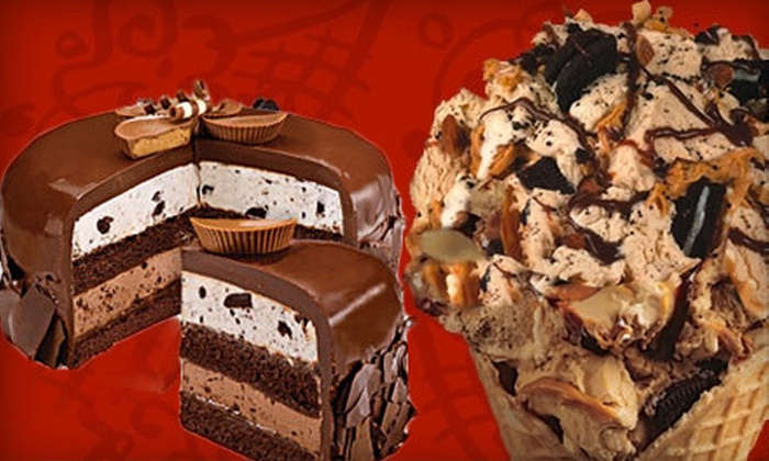 Cold Stone Creamery - Broadstone: Custom-Crafted Ice Cream, Cakes, or Catered Ice-Cream Party from Cold Stone Creamery in Folsom (Up to 52% Off)