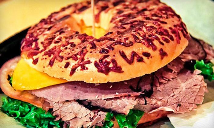Oasis Cafe - Vista Ridge: $10 Worth of Sandwiches, Wraps & Café Fare