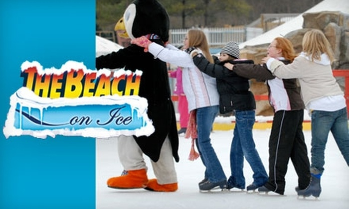 The Beach On Ice - Mason: $30 for an 18-Day Full-Access Pass to The Beach On Ice (Up to $360 Value)