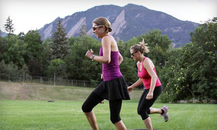 Take it Out! - Boulder: Five Sessions or One Month of Unlimited Outdoor Fitness Classes at Take it Out! in Boulder