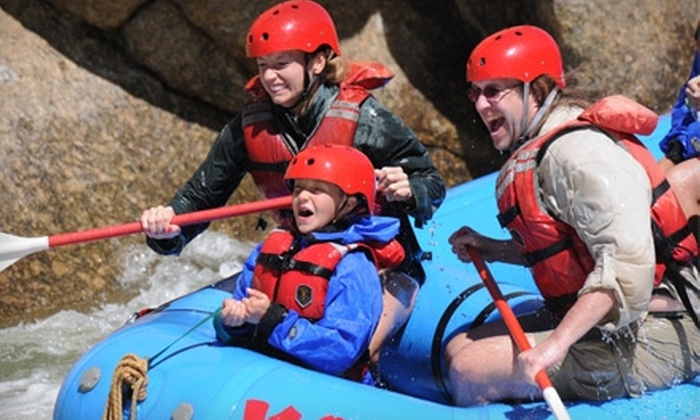 KODI Rafting - Buena Vista: $35 for a Half-Day Rafting Trip Through Brown's Canyon and Gear Rental from KODI Rafting in Buena Vista