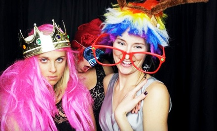 Three-Hour Photo-Booth Rental Package, Valid SundayFriday (a $495 value) - Valentine Photo Booth in