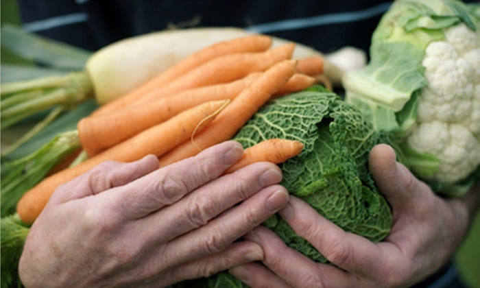 Full Circle: $18 for One Standard Box of Organic Produce and Artisan Groceries Plus $3 Credit from Full Circle ($38 Value)