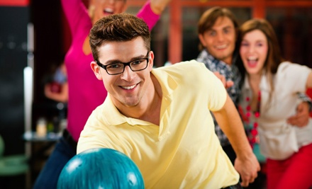 Holiday Bowling Center: 2 Games of Bowling and Shoes for 4 People: Sunday-Thursday Only - Holiday Bowling Center in Hallandale Beach