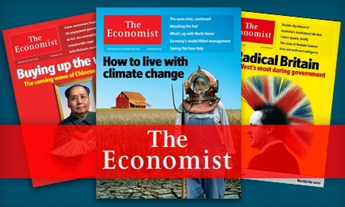 """The Economist"" - Maryland Heights: $51 for 51 Issues of ""The Economist"" ($127 Value)"