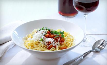 Italian Dinner for 2 - Luciano's Ristoranti in Ludington