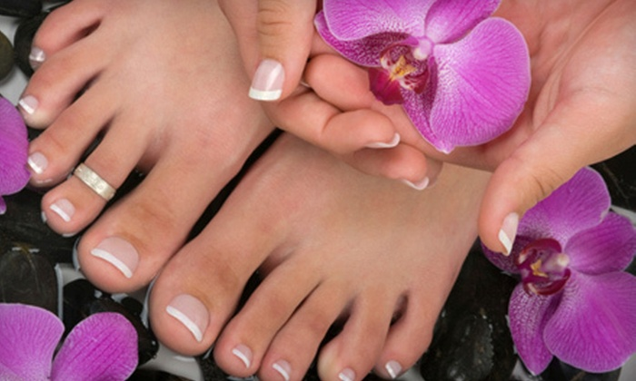 Cool Springs Nails - Otter Creek: $25 for Mani-Pedi and Warm-Oil Foot Massage at Cool Springs Nails in Brentwood ($50 Value)