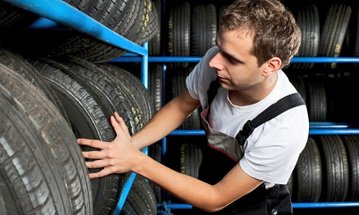Treads & Care - Multiple Locations: $40 for $100 Worth of Tires and Automobile Maintenance at Treads & Care