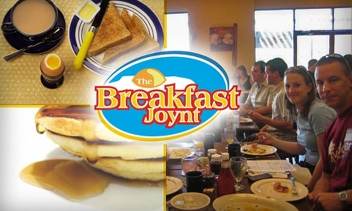 The Breakfast Joynt - Northsight: $10 for $20 Worth of Morning and Lunch Bites at The Breakfast Joynt in Scottsdale