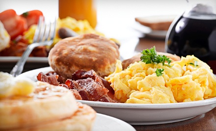 Breakfast or Lunch for Four People  - City Limits Diner and Pancake House in Tecumseh