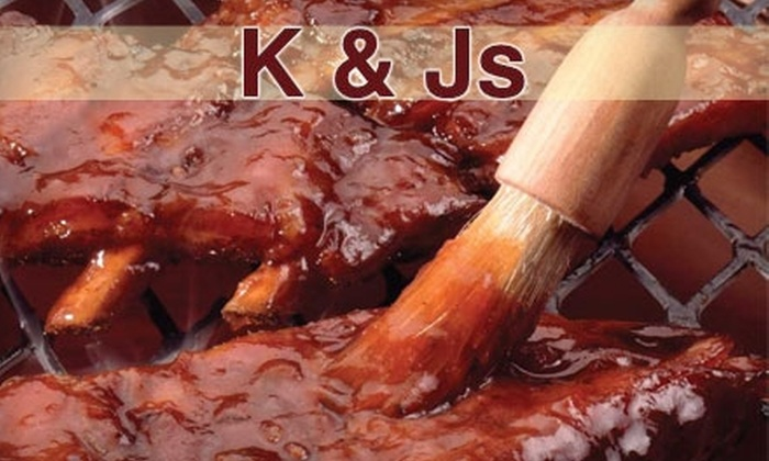 K&Js - Stockton: $10 for $20 Worth of Barbecue and More at K&Js