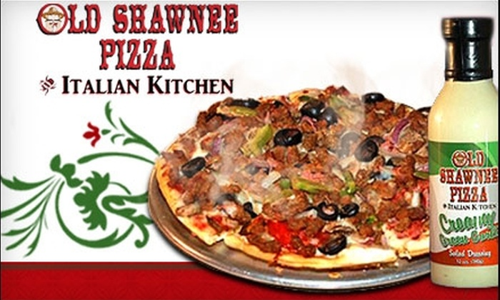 Old Shawnee Pizza - Multiple Locations: $15 for a Family Feast from Old Shawnee Pizza ($30 Value)