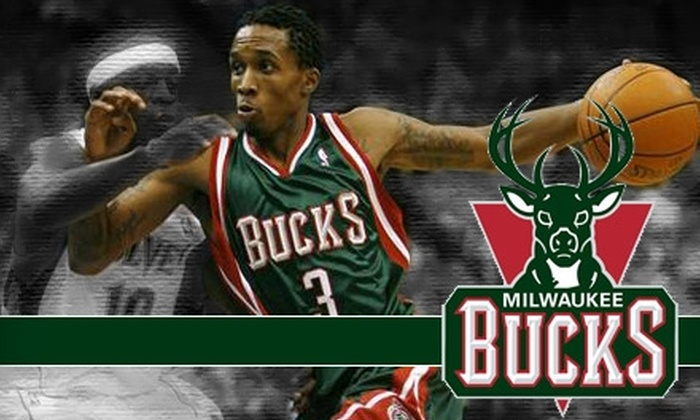 Milwaukee Bucks - Kilbourn Town: Ticket to a Milwaukee Bucks Game (Up to $110.35 Value). Choose from Two Seating Levels and Three Games.