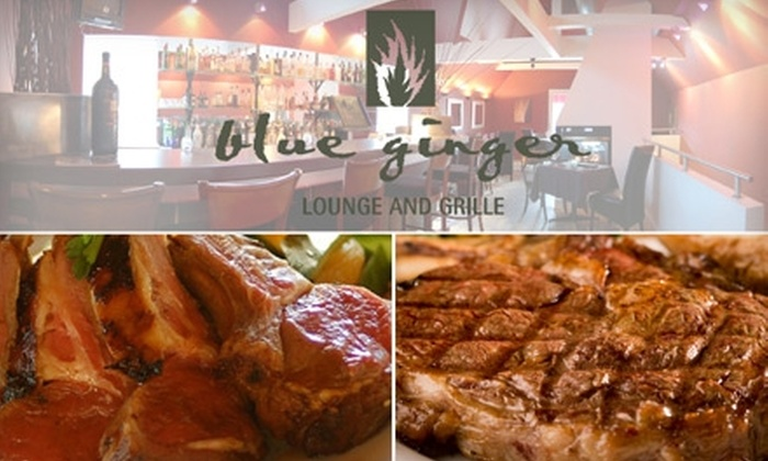 Blue Ginger Lounge & Grille - Central London: French-Asian Fusion at Blue Ginger Lounge & Grille. Choose Between Two Options.