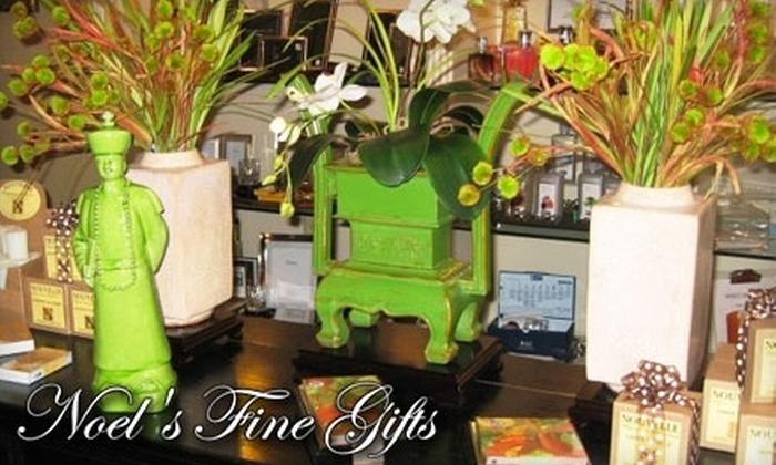 Noel's Fine Gifts - Mission Farms: $15 for $30 Worth of Products at Noel's Fine Gifts